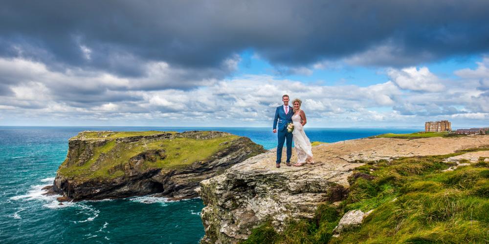 Tintagel wedding photographer