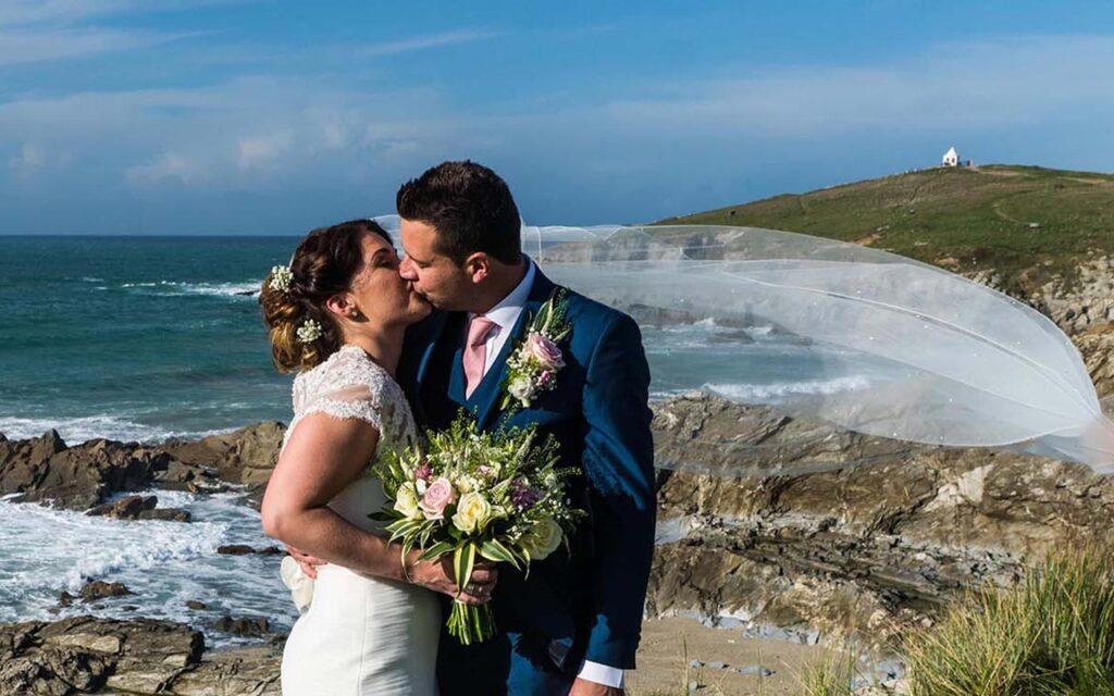 The headland Hotel Newquay wedding photography