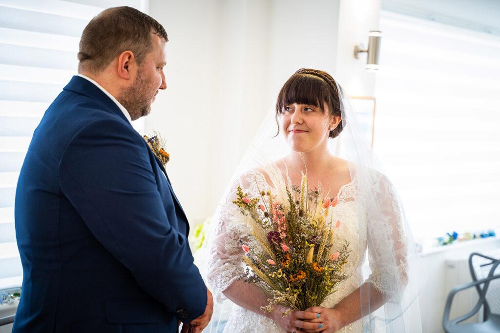 Bude cornwall wedding photographer